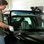 Установка нового автомобильного стекла