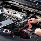 ремонте двигателя автомобиля
