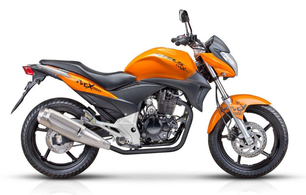 Мотоцикл_STELS_Flex_250_оранжевый