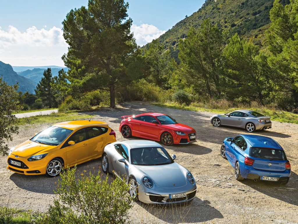 ford-focus-st-porsche-911-bmw
