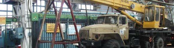Ремонт автокранов в Москве и Московской области